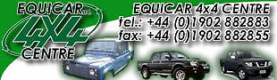 Equicar 4x4 Ltd Spares and Salvage