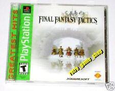 Jeux vidéo anglais Final Fantasy NTSC-U/C (US/Canada)