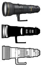 Nikon Zoom Manual Focus Telephoto Camera Lenses