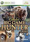 Cabela's Big Game Hunter 2010 (Microsoft Xbox 360, 2009)