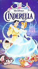 VHS-Video-Tape-Disney-Cinderella-NEW-SEALED