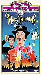 Walt Disney Masterpiece Collection MARY POPPINS  VHS - Clamshell ~ Brand New