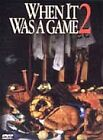 When It Was a Game 2 (VHS, 1993)
