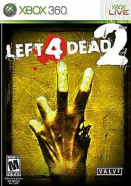 LEFT 4 DEAD 2  (PLATINUM HITS) (XBOX 360, 2009) (8778) ****FREE SHIPPING USA****