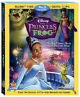 The Princess and the Frog (Blu-ray/DVD, 2010, 3-Disc Set, Includes Digital Copy)
