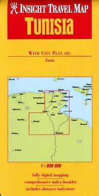 (Good)-Tunisia Insight Travel Map (Paperback)--9812346295