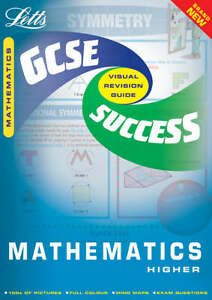 GCSE-Maths-Higher-Success-Guide-by-Letts-Educational-Paperback-2001
