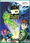 Ben 10: Alien Force (Nintendo Wii, 2009) - European Version