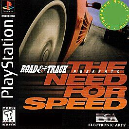 Road Track Presents The Need For Speed Sony PlayStation 1 1996
