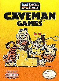 Caveman Games (Nintendo Entertainment System, 1990)