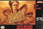 Operation Europe: Path to Victory 1939-45 (Super Nintendo Entertainment System, 1993)