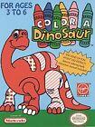 Color a Dinosaur (Nintendo Entertainment System, 1993)