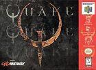 Quake Nintendo 64 Video Games