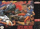 Nintendo Super Street Fighter II Video Games