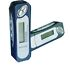 MP3 Player: Polaroid Pocket Jam3 PDP510 Blue/Silver ( 64 MB ) Digital Media Player