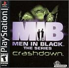 Men in Black -- The Series: Crashdown (Sony PlayStation 1, 2001)