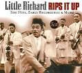 LITTLE RICHARD: RIPS IT UP - THE HITS, EARLY RECORDINGS & MORE / 3CD-BOX / NEU