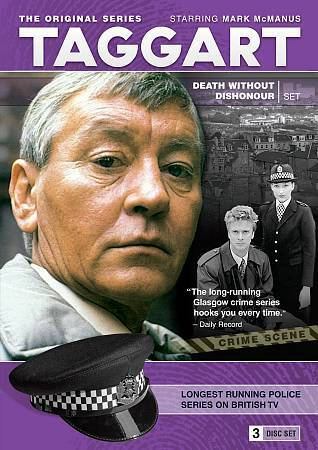 Taggart - Death Without Dishonour Set (DVD, 2009, 3-Disc Set)
