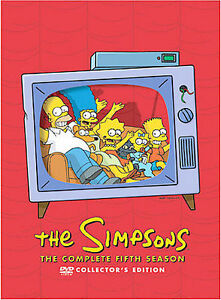 The-Simpsons-Season-5-DVD-2009-4-Disc-Set-DVD-2009