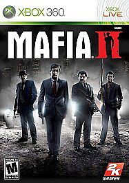 MAFIA-II-Xbox-360-2010-ORIGINAL-CASE-MANUAL-MAP-ONLY-NO-GAME