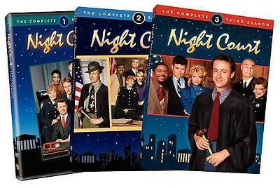 Night Court: The Complete Seasons 1-3 (Dvd, 2010, 8-disc Set)