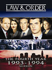 Law & Order - The Fourth Year (DVD, 2005, 3-Disc Set)