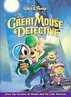 The Adventures of the Great Mouse Detective (DVD, 2002)
