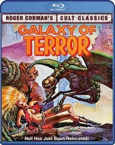 BLU-RAY-Galaxy-Of-Terror-Blu-Ray-NEW-Roger-Corman-Cult-Classic