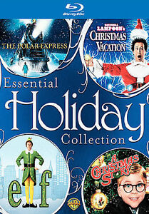 essential holiday collection the polar expressnational lampoons christmas vacationelfachristmas story blu ray disc 2008 4 disc set