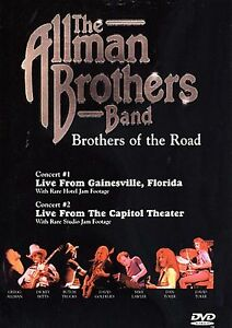 ALLMAN BROTHERS BAND LIVE DVD 82 2SHOWS GAINESVILLE FLA PASSIAC NJ DICKEY BETTS
