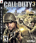 Call of Duty 3  (Sony Playstation 3, 2006) (2006)