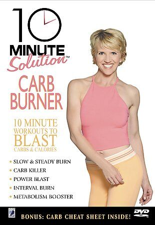 10 minute solution carb and calorie burner 10 minute workouts to blast carbs new