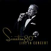 Sinatra 80th: LIVE IN CONCERT, Sinatra, Frank, Good Used CD