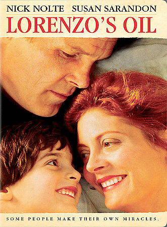LORENZO'S OIL Region 1 DVD Nick Nolte Susan Sarandon---------1992