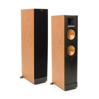 klipsch rf 82 ii floor standing speakers ebay. Black Bedroom Furniture Sets. Home Design Ideas