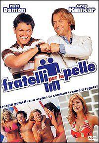 FRATELLI-PER-LA-PELLE-MATT-DAMON-2004-DVD-NUOVO