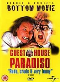Guest House Paradiso  Bottom The Movie DVD 1999 Good Condition DVD Steven - <span itemprop=availableAtOrFrom>Rossendale, United Kingdom</span> - Your satisfaction is very important to us. Please contact us via the methods available within eBay regarding any problems before leaving negative feedback. Any defects, damages, or mat - Rossendale, United Kingdom