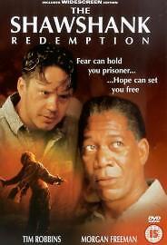 The Shawshank Redemption DVD 1995 in Good Condition Tim Robbins Morgan Fr - Bedford, United Kingdom - The Shawshank Redemption DVD 1995 in Good Condition Tim Robbins Morgan Fr - Bedford, United Kingdom