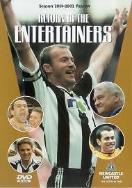Newcastle United Fc - Season Review 2001/02  DVD Alan Shearer