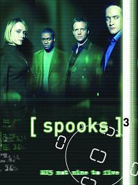 Spooks-Series-3-Complete-DVD-2005-5-Disc-Set-Box-Set