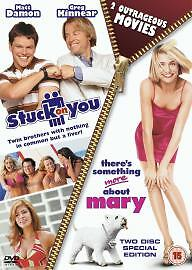 Stuck-On-You-There-039-s-Something-About-Mary-DVD-2004-2-Disc-Set-Double-Pack