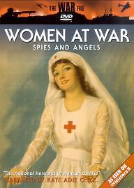The War File - Women at War: Spies and Angels DVD (2004) Kate Adie Brand New