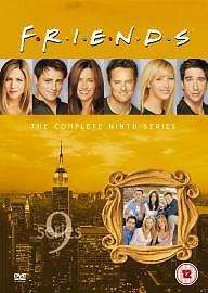 Friends  Series 9  Complete DVD 2003 3Disc Set Box Set - <span itemprop=availableAtOrFrom>Essex, Essex, United Kingdom</span> - Friends  Series 9  Complete DVD 2003 3Disc Set Box Set - Essex, Essex, United Kingdom
