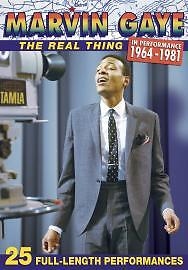 Marvin Gaye - the Real Thing: in Performance 1964-1981 [+CD] [DVD] [2006], Very