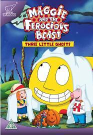 Maggie And The Ferocious Beast - Three Little Ghosts [DVD], Very Good DVD, ,