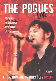 The Pogues - Live At The Town And Country Club London (DVD, 2004)
