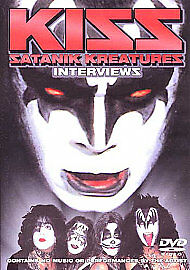 Kiss - Satanik Kreatures - Interviews (DVD, 2008)  Brand new and sealed