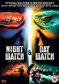 Night WatchDay Watch DVD 2008 2Disc Set Director039s Cut Box Set - <span itemprop=availableAtOrFrom>Westbury, UK, United Kingdom</span> - Returns accepted Most purchases from business sellers are protected by the Consumer Contract Regulations 2013 which give you the right to cancel the purchase within 14 days after the - Westbury, UK, United Kingdom