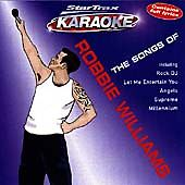 The Songs Of Robbie Williams: Star Trax Karaoke, Karaoke, Very Good CD