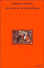 Libri e riviste di letteratura e narrativa Andrea Camilleri prima edizione